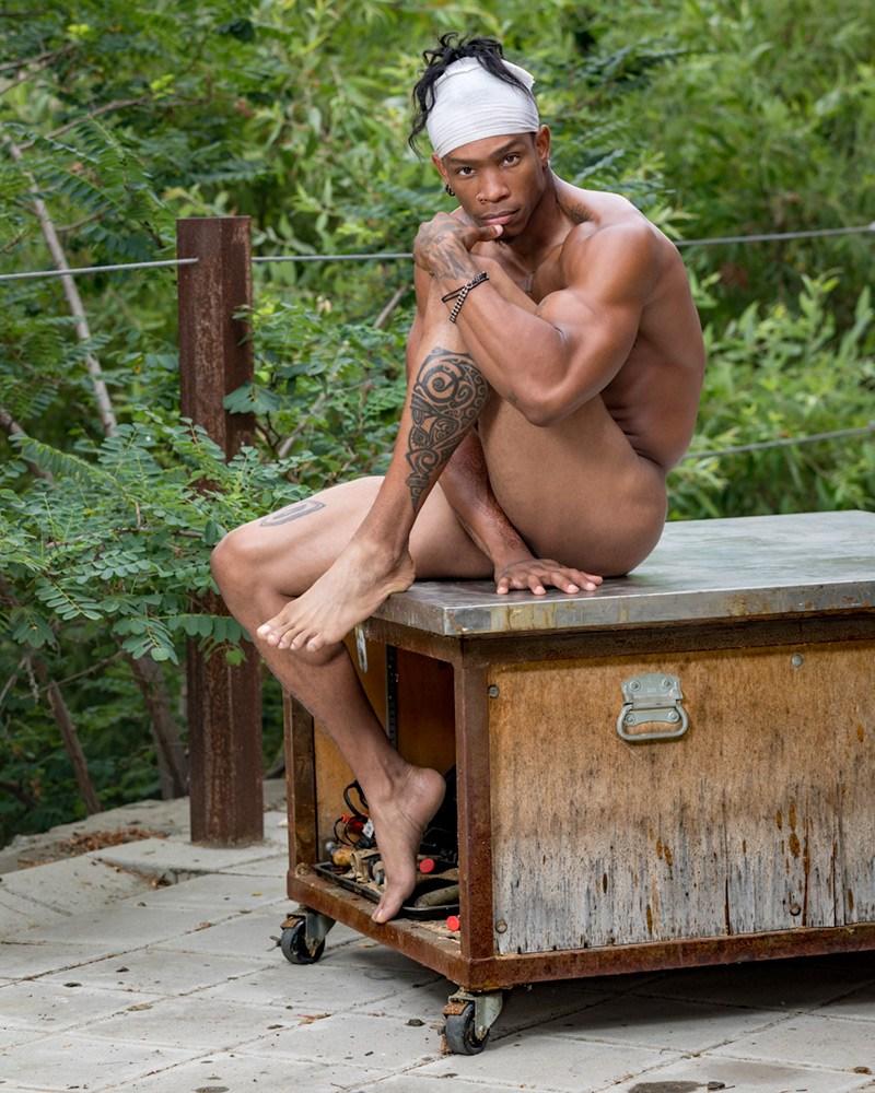 2018081210155054 - 工装健硕肌肉黑人男模 Kevin / Antony Kozz摄影作品