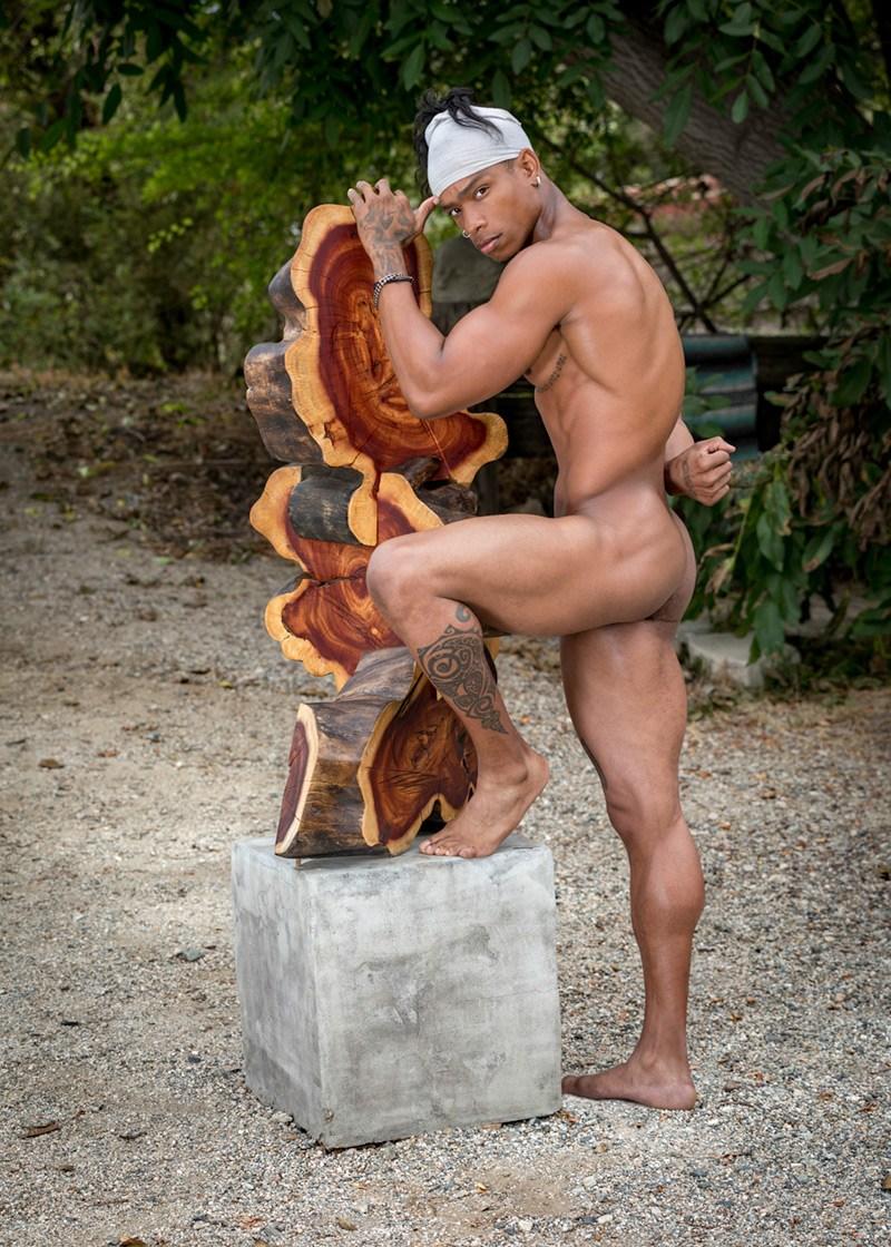 2018081210155599 - 工装健硕肌肉黑人男模 Kevin / Antony Kozz摄影作品