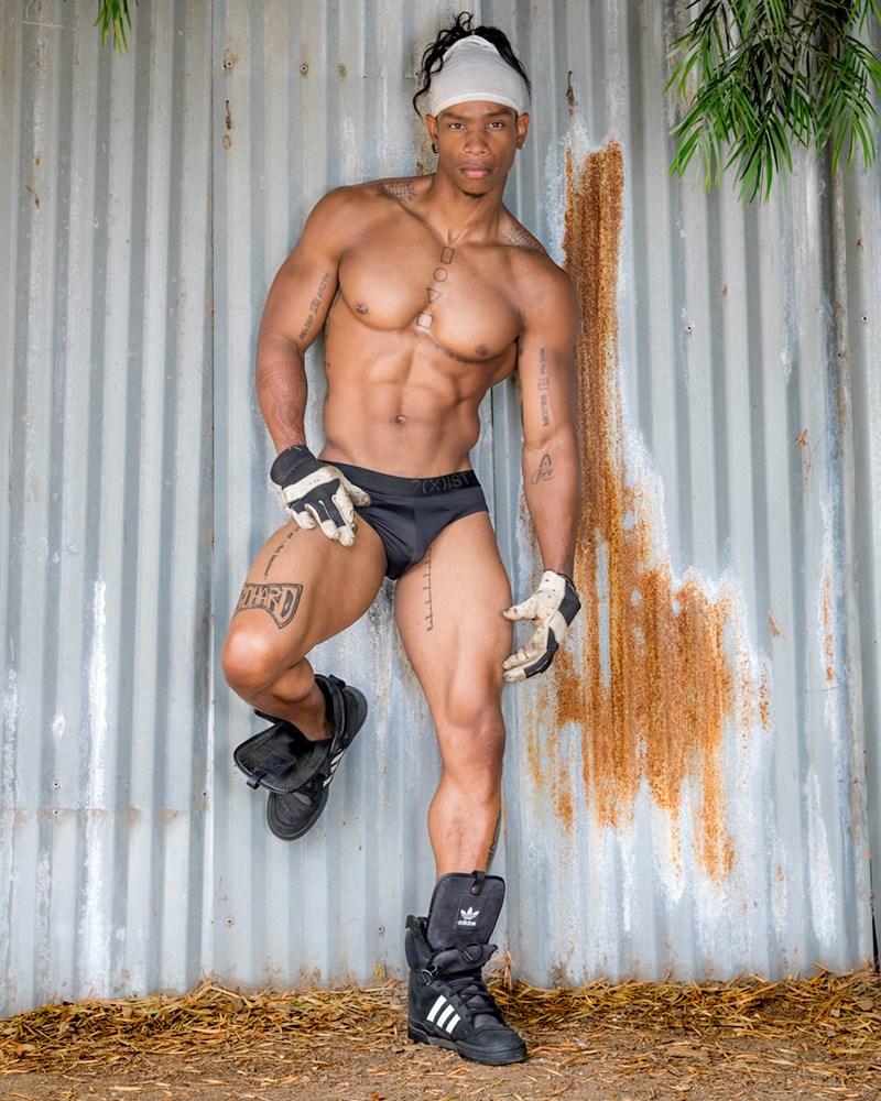 2018081210155816 - 工装健硕肌肉黑人男模 Kevin / Antony Kozz摄影作品
