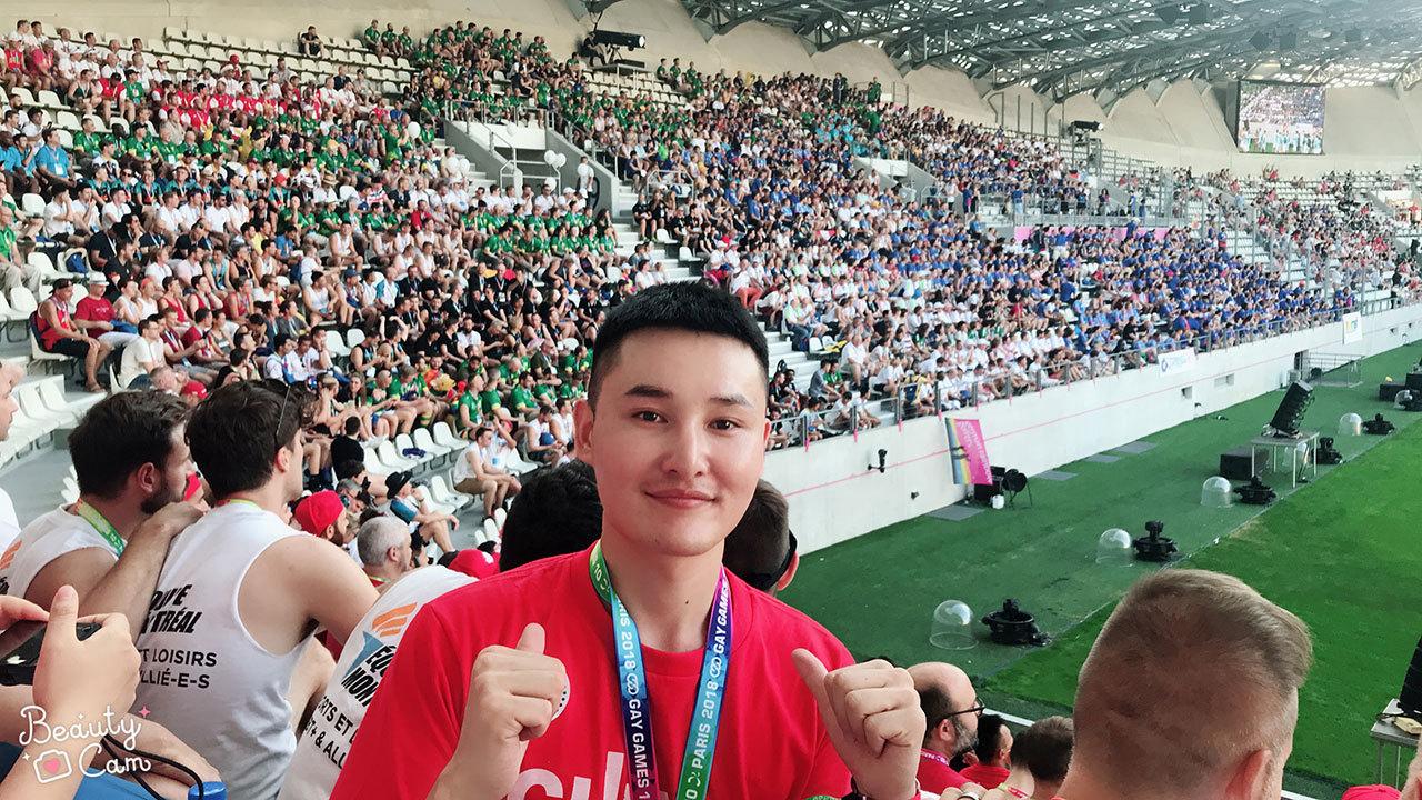 2018081412260633 - 世界同志运动会闭幕,他是中国唯一少数民族参与者