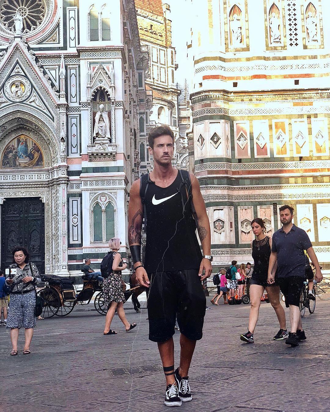 """2018082010190119 - 曾获""""意大利先生""""奖的模特兼演员 Andrea Franchini"""