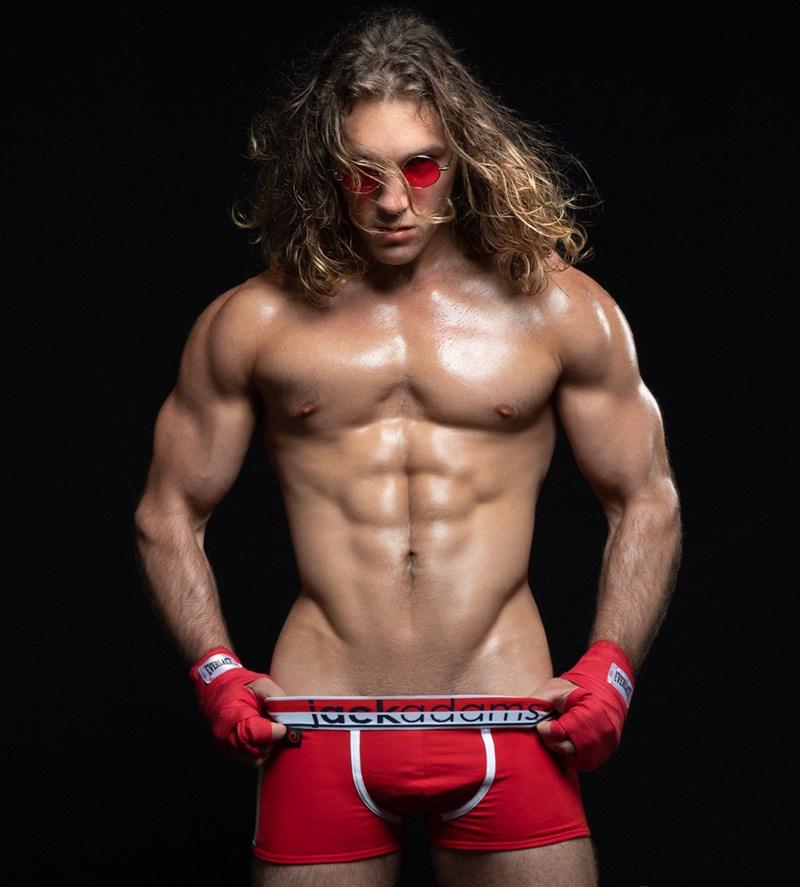 2018100302464193 - 来自美国纽约的金发精壮肌肉男:Zack Thomas