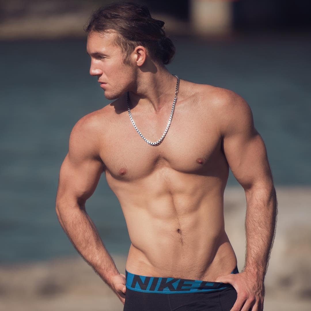 2018100302513337 - 来自美国纽约的金发精壮肌肉男:Zack Thomas