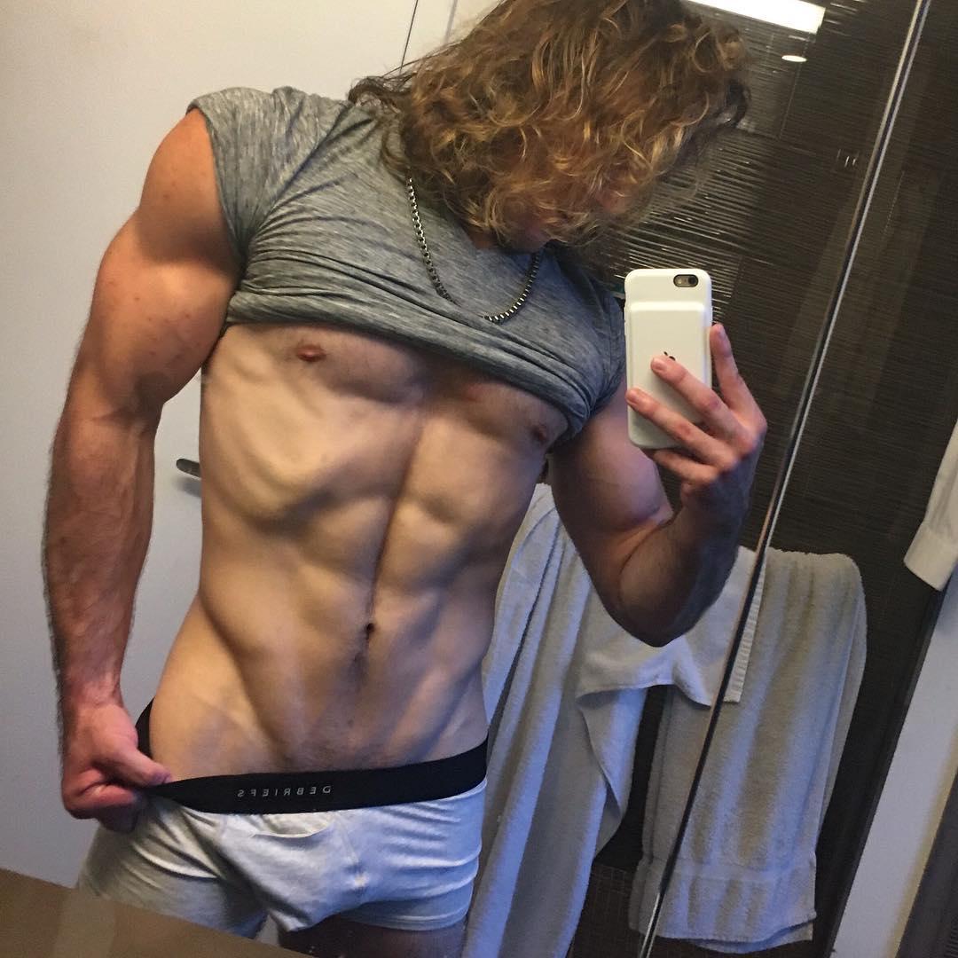 2018100302544258 - 来自美国纽约的金发精壮肌肉男:Zack Thomas