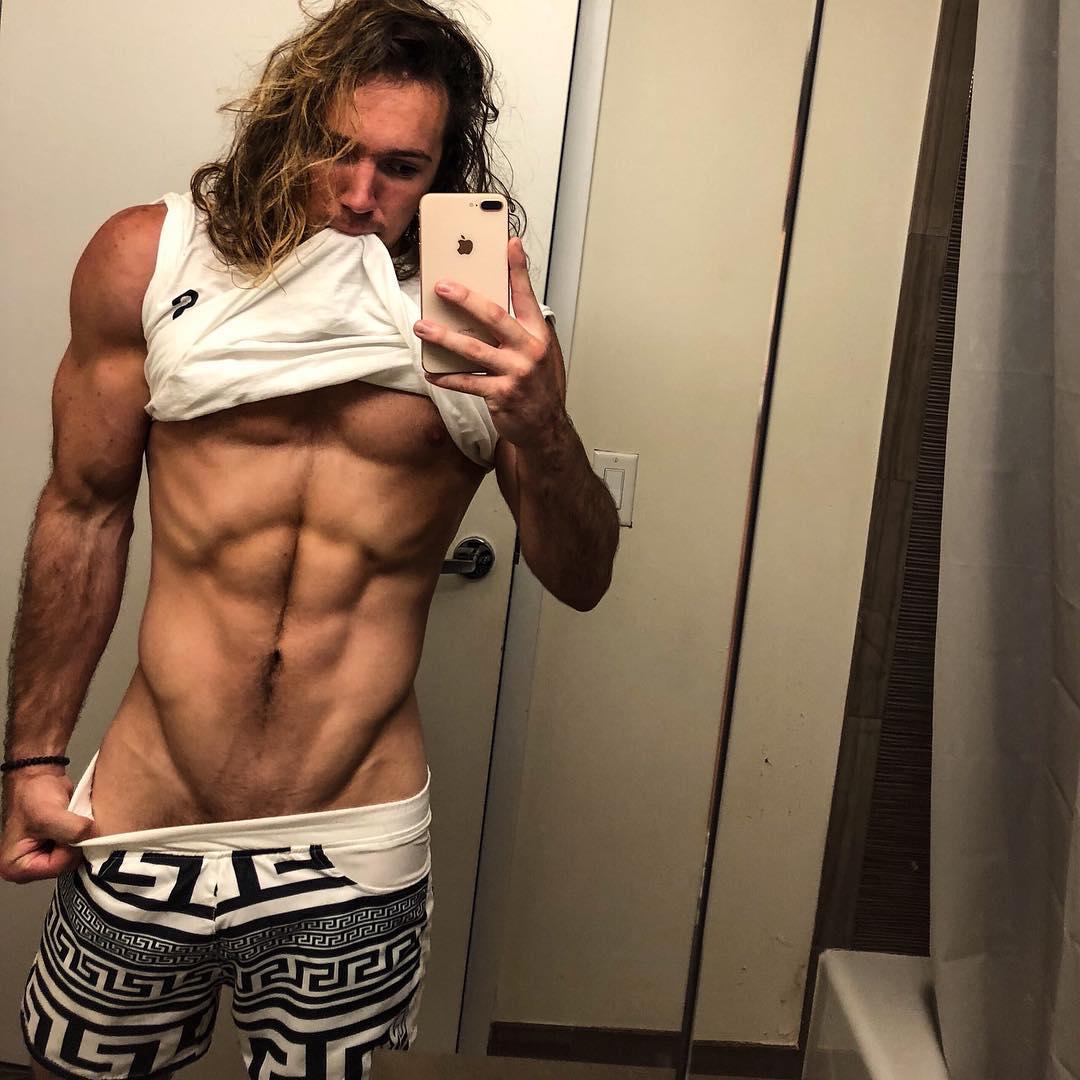 2018100302544581 - 来自美国纽约的金发精壮肌肉男:Zack Thomas