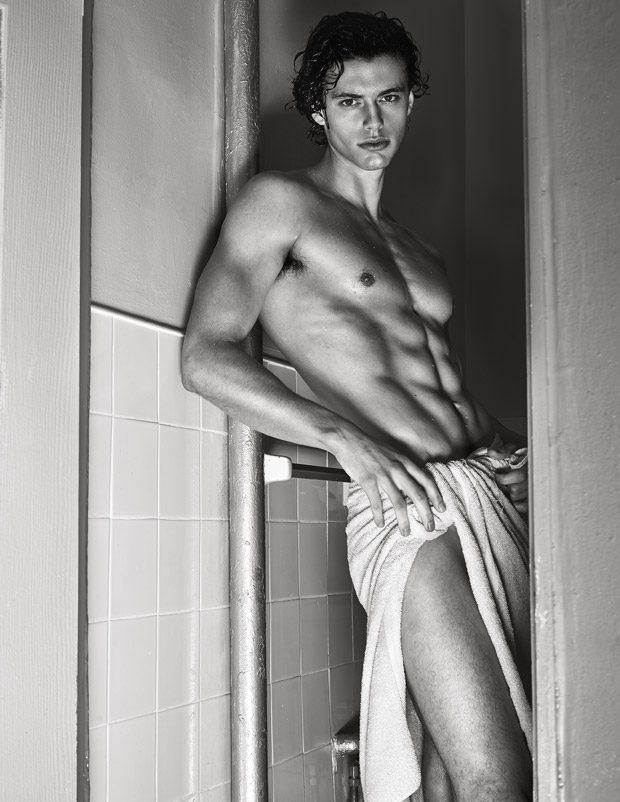 Pablo Kaestli 1 - 来自法国的男模Pablo Kaestli / Diane Zhao摄影作品
