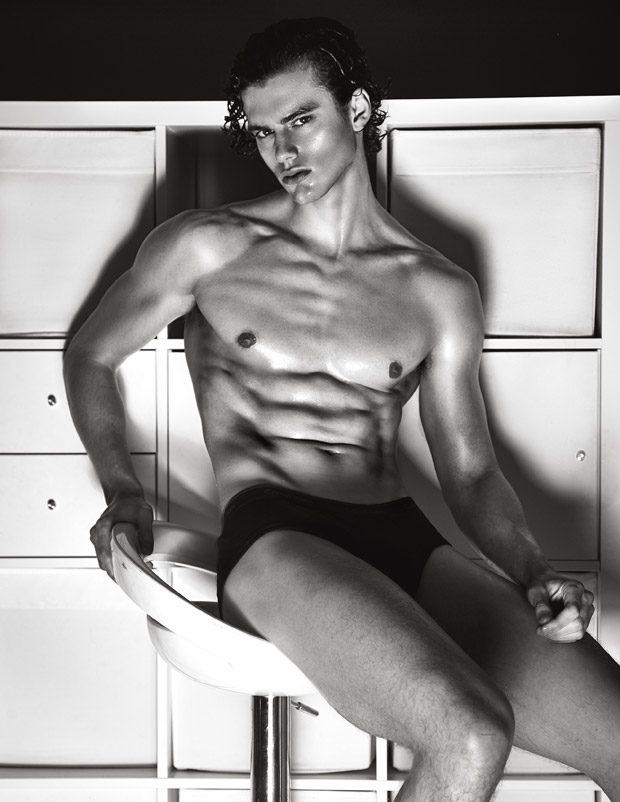 Pablo Kaestli 2 - 来自法国的男模Pablo Kaestli / Diane Zhao摄影作品
