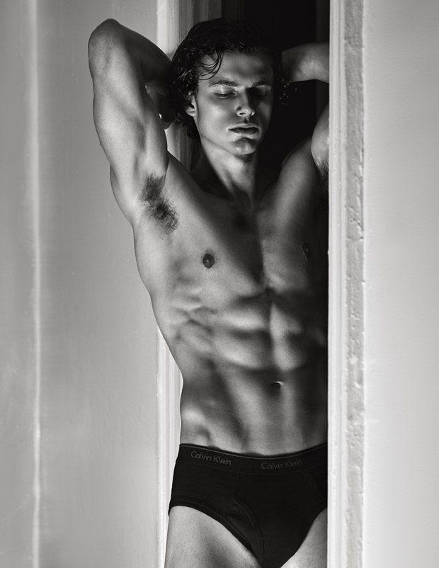 Pablo Kaestli - 来自法国的男模Pablo Kaestli / Diane Zhao摄影作品