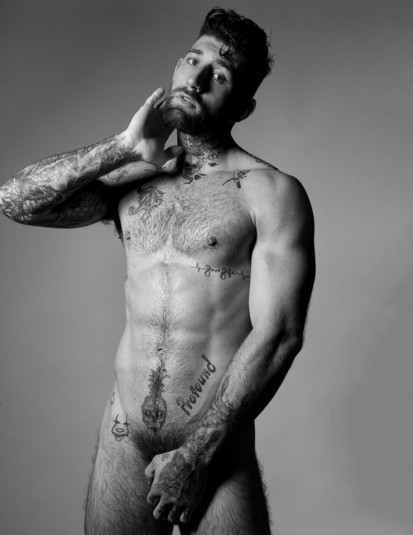 14 - 美国纽约肌肉男Liam Bergan / Marco Ovando摄影作品