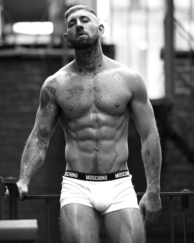 3 - 美国纽约肌肉男Liam Bergan / Marco Ovando摄影作品