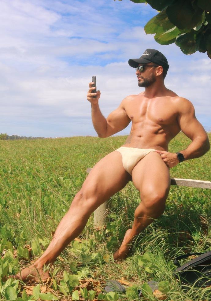 0132327125181205 - 健身榜样 肌肉超大的肌肉猛男Romullo Praxes
