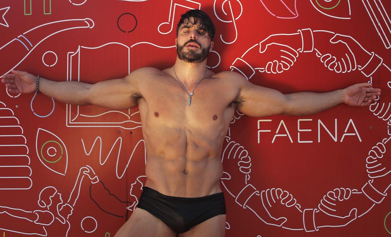 Leo Feature - 美国肌肉男模 Leo Ledesma / Dan Cabrera摄影作品